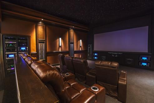 MASS Home Theater Design/Installation & Construction Contractors: TV Wall Mounting & Cable TV Outlet Wiring in Worcester County & Middlesex County, Massachusetts.